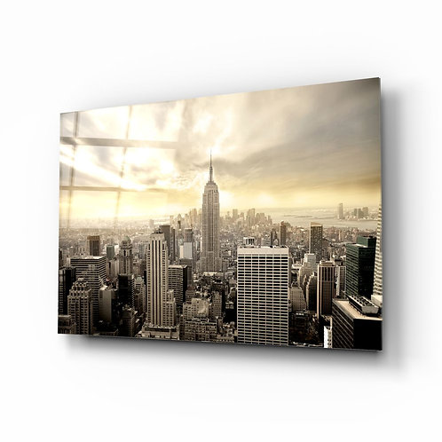 NYC UV Printed Glass Printing