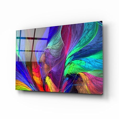 Colorful Patterns Glass Printing