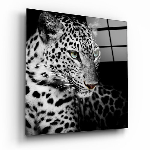 Leopard UV Printed Glass Printing