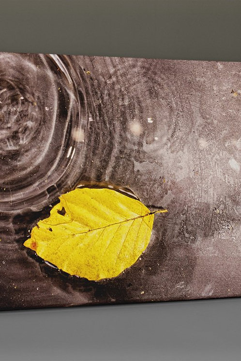 Yellow Leaf Canvas Printings