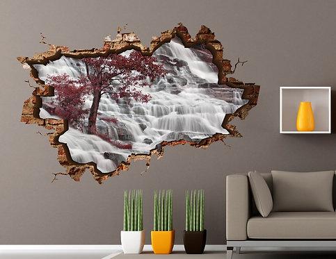 Waterfall 3D Wall Sticker