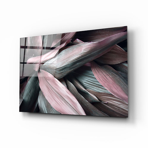 Leaves Glass Printing