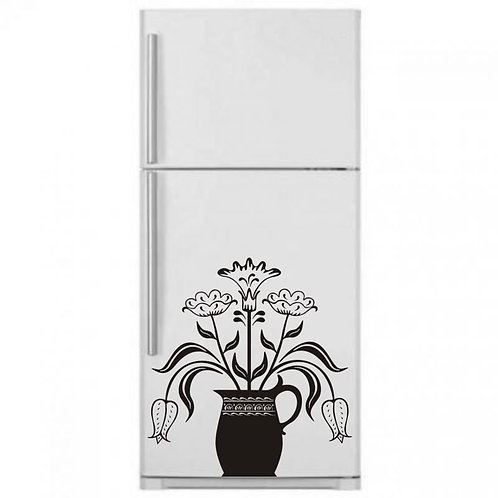 Flower Pot  Wall Sticker