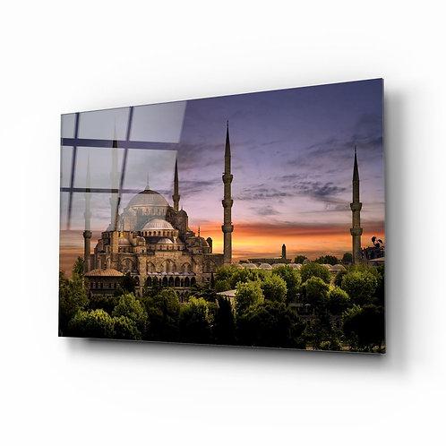 Suleymaniye Mosque UV Printed Glass Painting