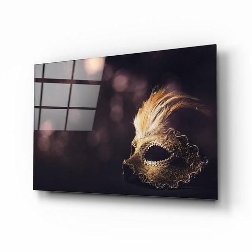 Venice Mask UV Printed Glass Printing