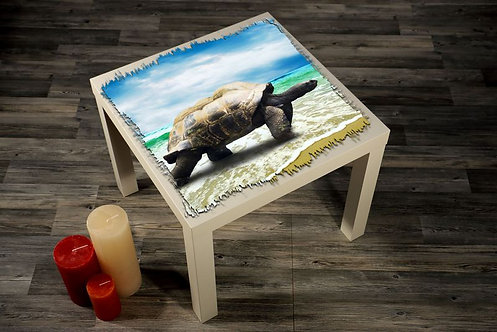 Tortoise Printed Coffee Tables