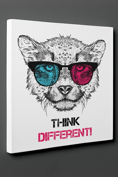 Think Different Canvas Printings