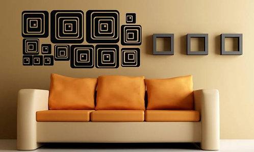 Modern Shapes Wall Sticker