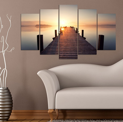 Scaffolding 5 Pieces MDF Painting