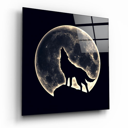 Full Moon UV Printed Glass Printing
