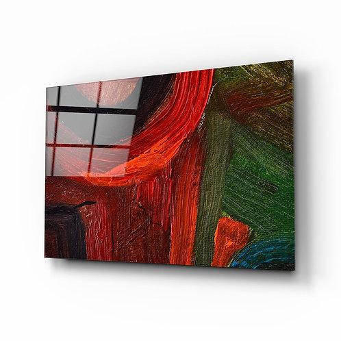 Abstract Glass Printing
