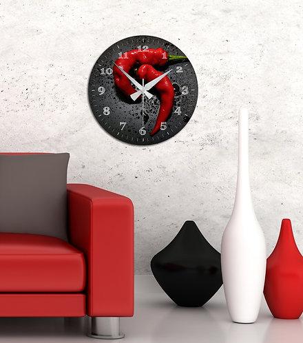 Pepper MDF Clock