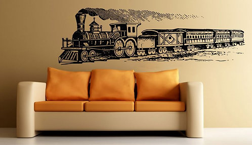 Concept Train Wall Sticker