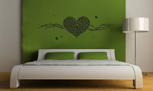 Rose Love Wall Sticker