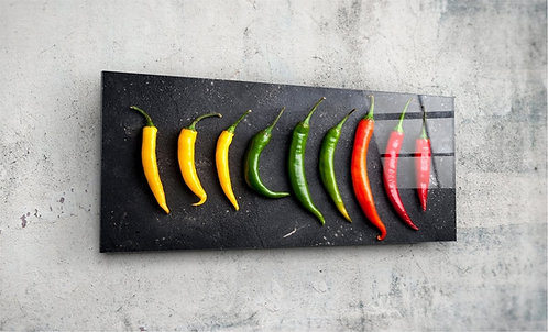 Pepper  UV Glass Painting