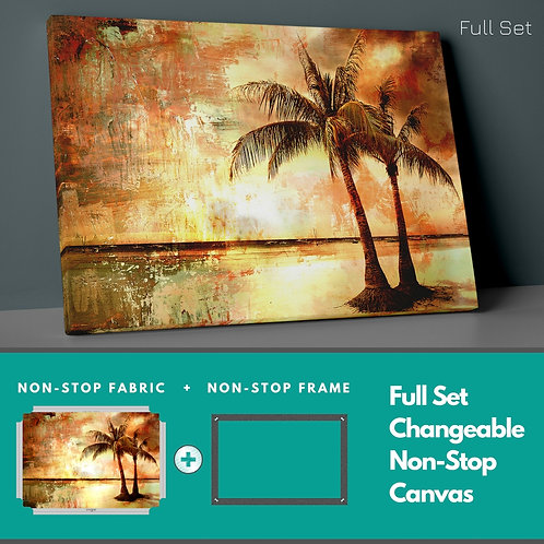 Palm Trees Non-Stop Canvas Printings