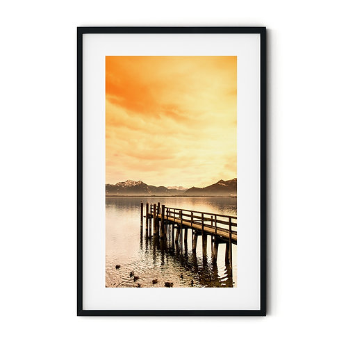 Dock Framed Wall Art