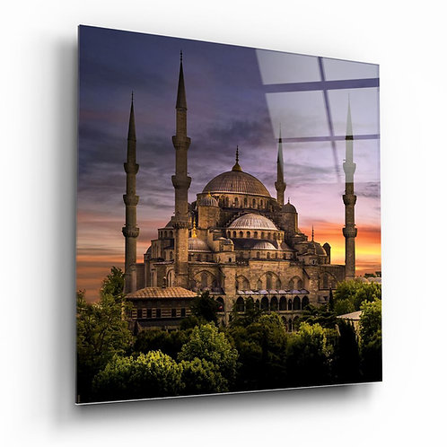 Sultan Ahmet Mosque Glass Painting
