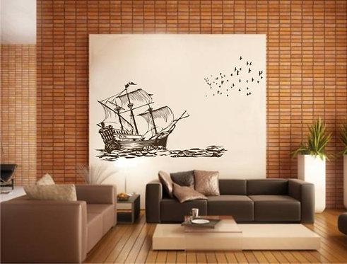 Ship Wall Sticker