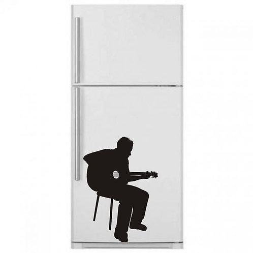 Guitarist  Wall Sticker