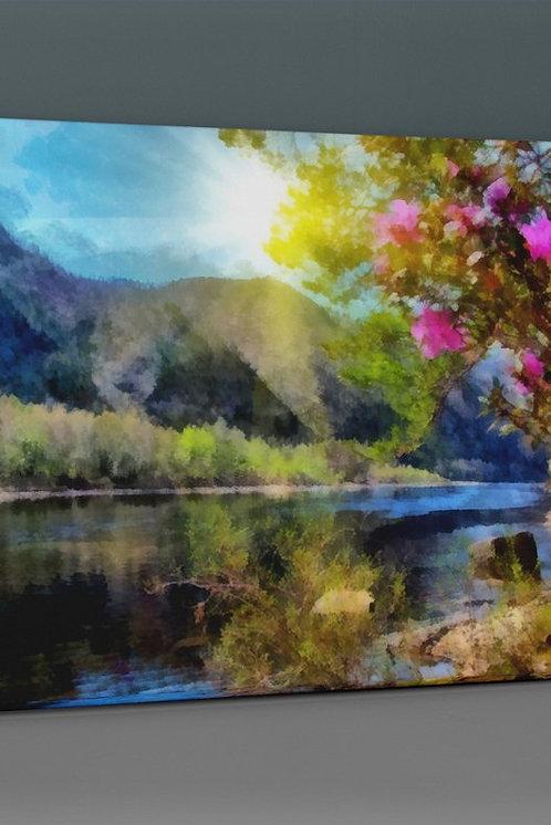 Lake Landscape Canvas Printings