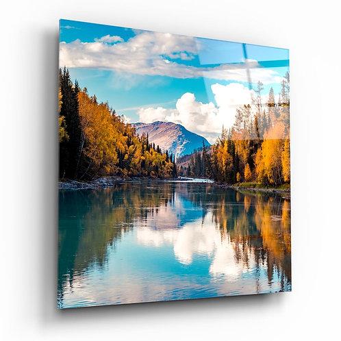 Lake UV Printed Glass Printing