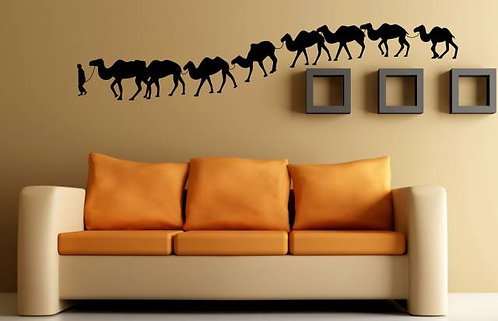 Caravan Wall Sticker