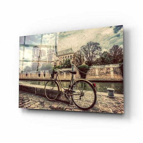 Bicycle UV Printed Glass Printing