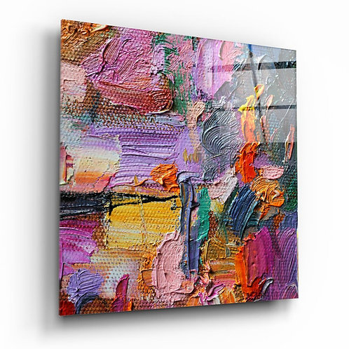 Abstract Art UV Printed Glass Printing