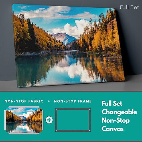 Reflection �n Lake Non-Stop Canvas Printings