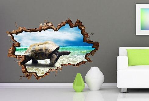 Turtle 3D Wall Sticker