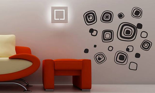 Modern Shapes Wall Sticker