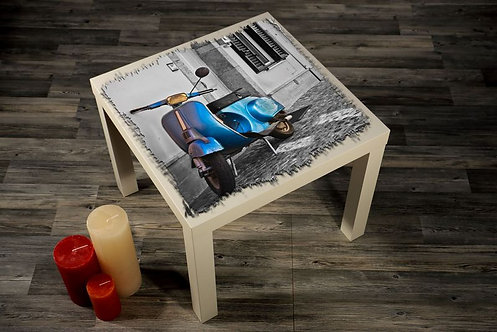Motorcycles Printed Coffee Tables