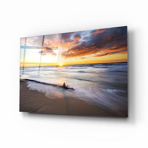 Sunset UV Printed Glass Printing