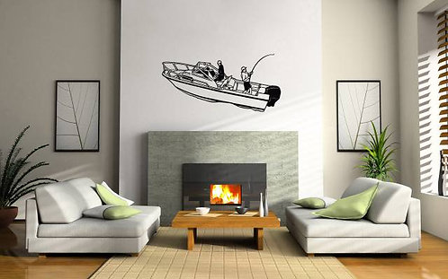 Boat Wall Sticker