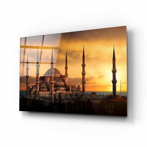 Blue Mosque UV Printed Glass Printing