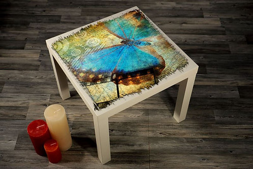 Butterfly Printed Coffee Tables