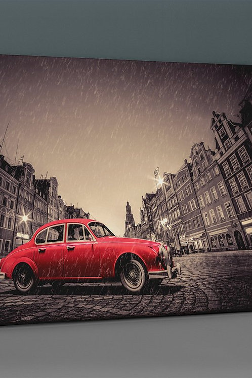 Red Car Canvas Printings