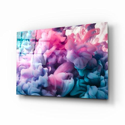 Colored Smoke Glass Printing