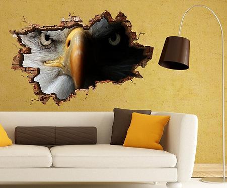 Hawk 3D Wall Sticker
