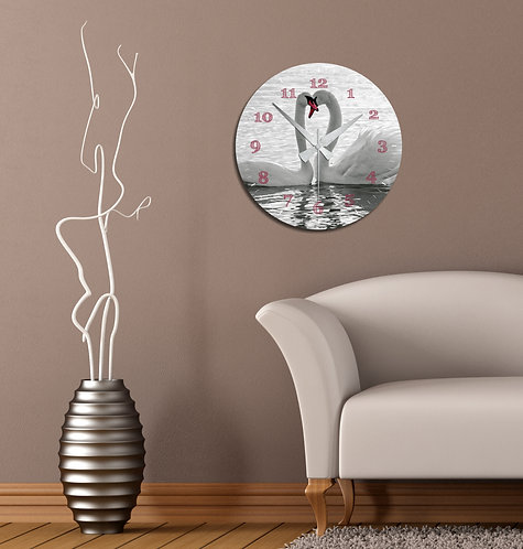 Cat MDF Clock