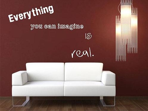 Imagine Wall Sticker