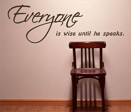 Everyone Wise Wall Sticker