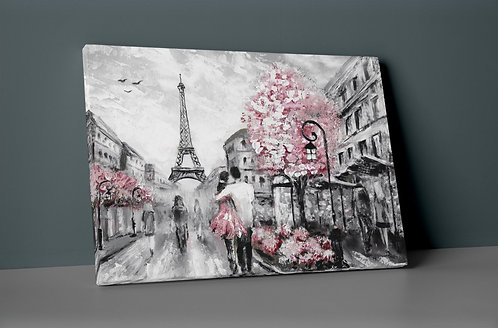 Eiffel Tower Canvas Printings