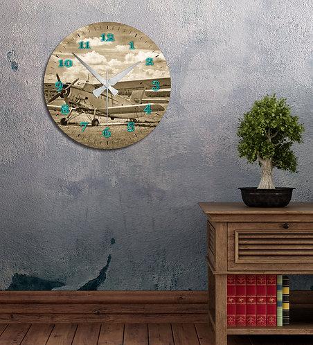 B&W Shore MDF Clock