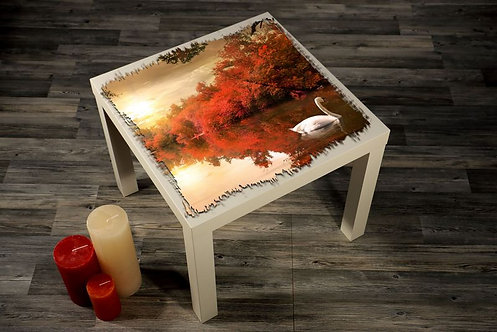 Swan Printed Coffee Tables