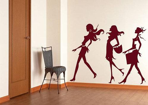 Women Wall Sticker