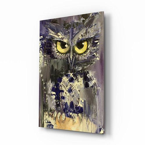 Owl Glass Printing