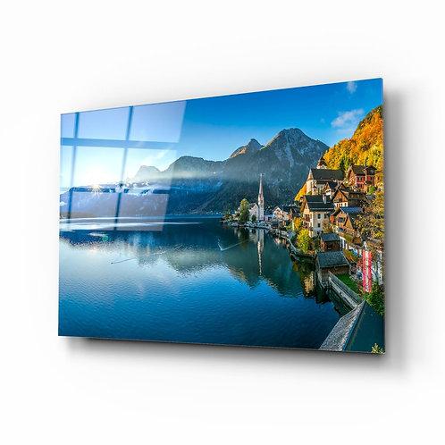 Alpines UV Printed Glass Printing