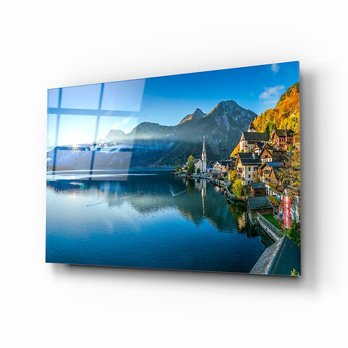 Alpines UV Printed Glass Painting